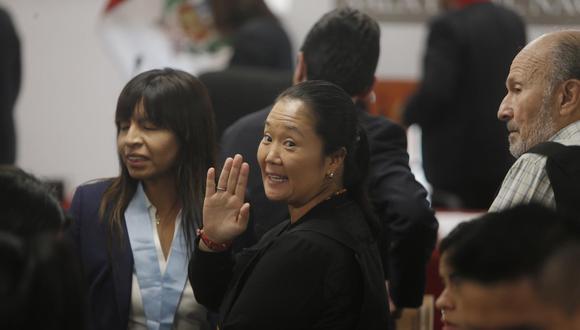 Keiko Fujimori presentó una apelación a la segunda prisión preventiva. (Foto: GEC).