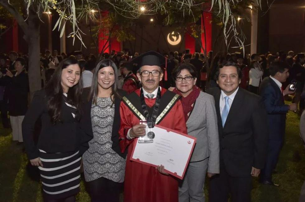 José Luis Romero es un ejemplo como estudiante. A sus 60 años se graduó como Ingeniero Civil destacando en el primer lugar. (Fotos: UPC)