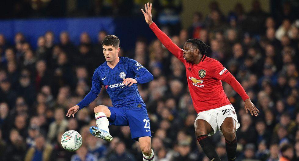 Chelsea y Manchester United registran 13 enfrentamientos sin victorias visitantes. (Foto: AFP)