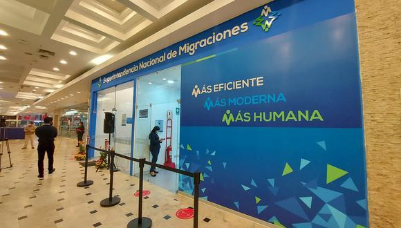 Migraciones amplía atención en su agencia del Jockey Plaza, en Surco. Foto: Migraciones Perú
