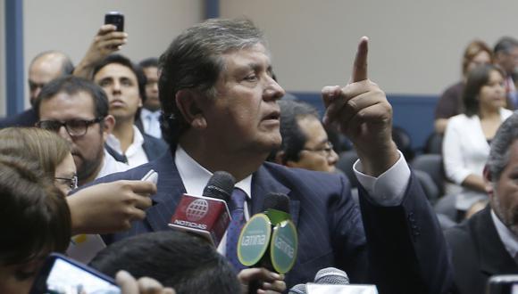 Caso BTR: El expresidente Alan García alista su defensa jurídica. (Nancy Dueñas)
