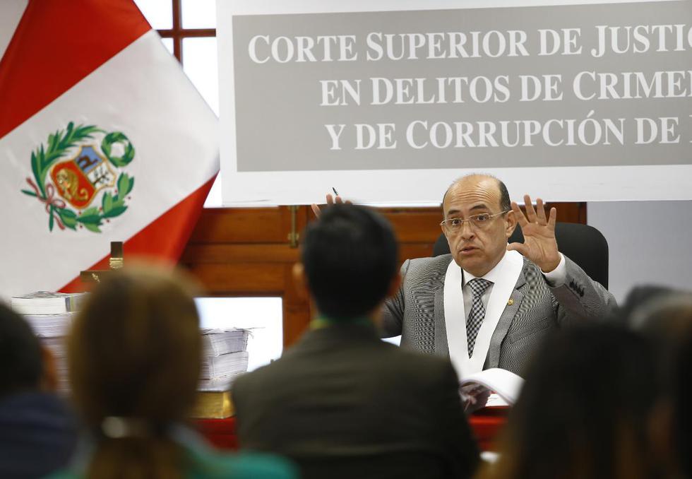 En este caso están implicados los ex oficiales de la Policía Raúl Prado y César Iturrizaga, entre otros 56 imputados. (Francisco Neyra/GEC)