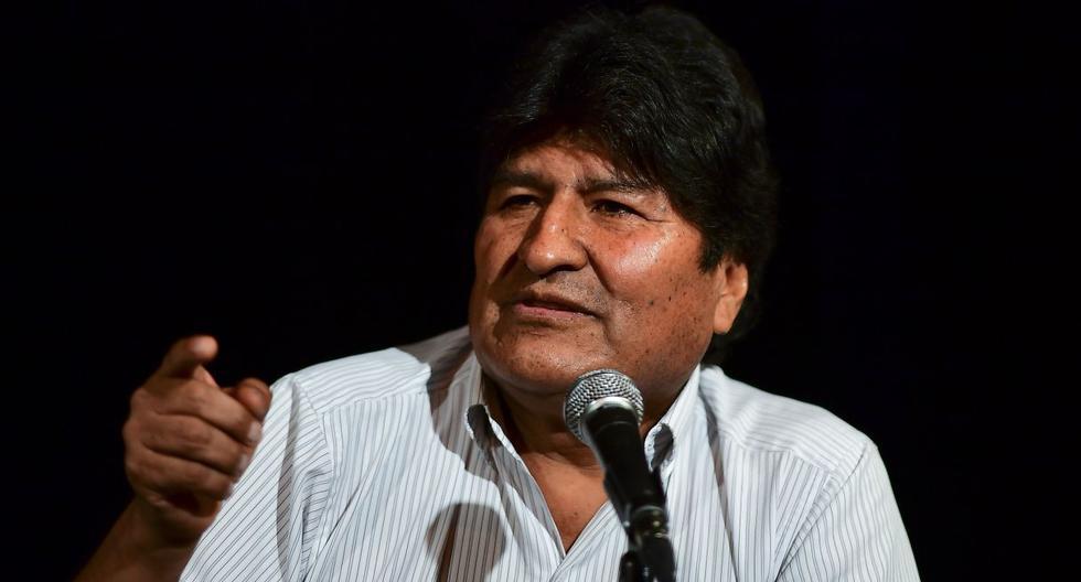 Evo Morales renunció a la presidencia de   Bolivia en diciembre y luego pidió refugio México y luego a Argentina.(AFP).