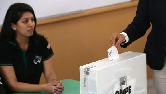 En el Perú, la participación en las elecciones es obligatoria a partir de los 18 años (Foto: Andina)