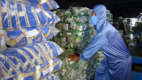 Qali Warma envió 300 toneladas de alimentos para 97 comunidades indígenas loretanas (Foto: Qali Warma)