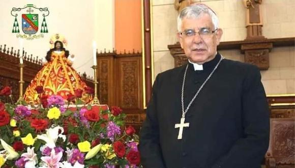 Cañete: Obispo es internado en UCI tras agravarse su salud por COVID-19 (Foto: Prelatura de Yauyos)