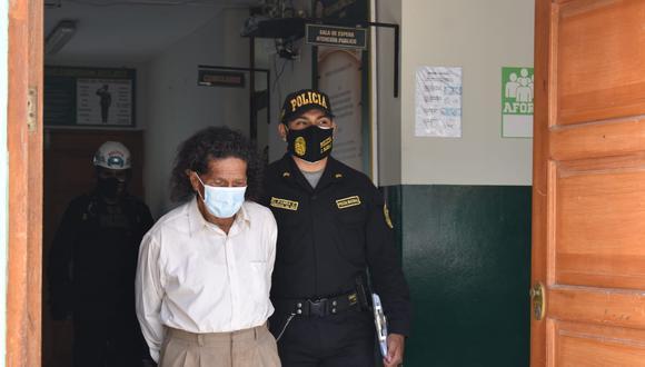 Ica: intervienen a dos adultos mayores por abusar sexualmente de joven con alteraciones mentales (Foto: PNP)
