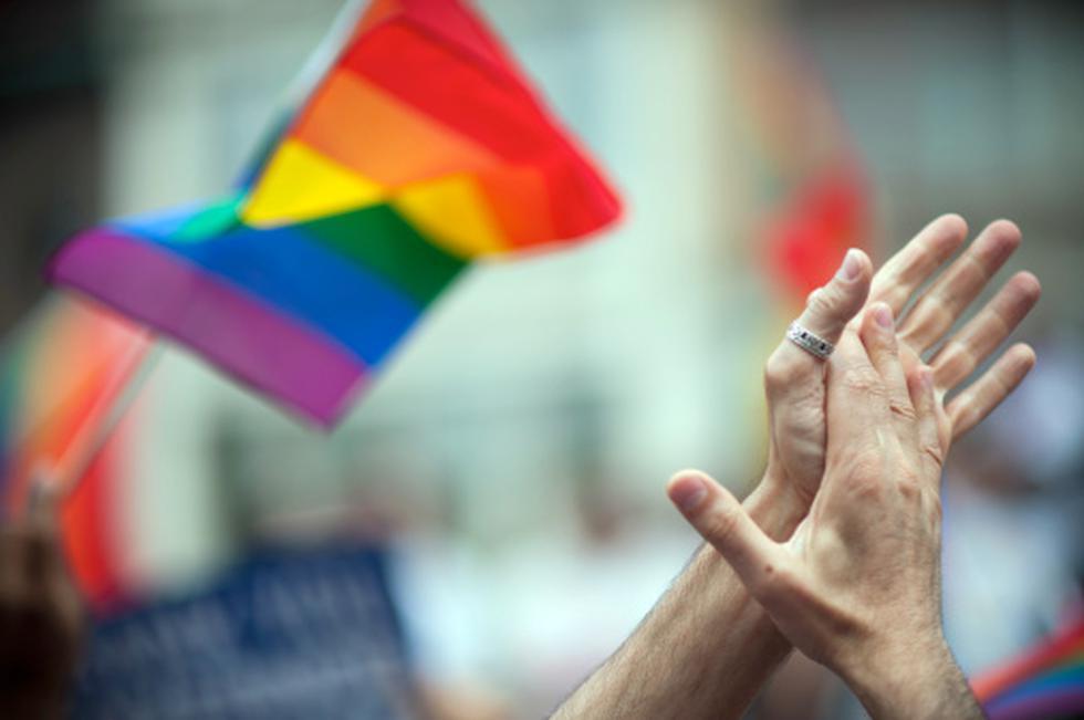 Día Internacional contra la Homofobia, la Transfobia y la Bifobia. (Getty)