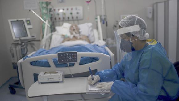 El incremento de casos de coronavirus tiene una relación directa con el uso de camas de cuidados intensivos | Foto: Andina