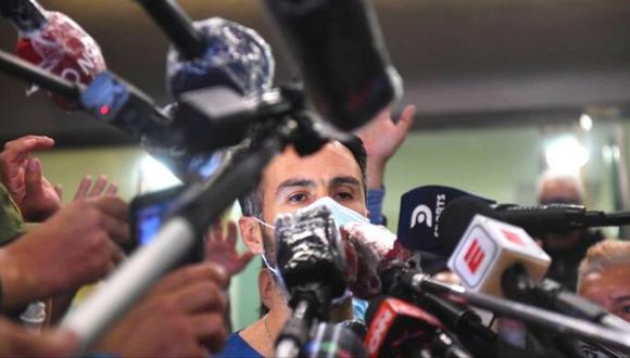 Diego Maradona: último parte médico. (AFP)