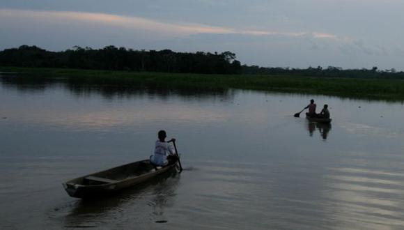 Pidieron botes de motor para buscar al docente. (Peru21)