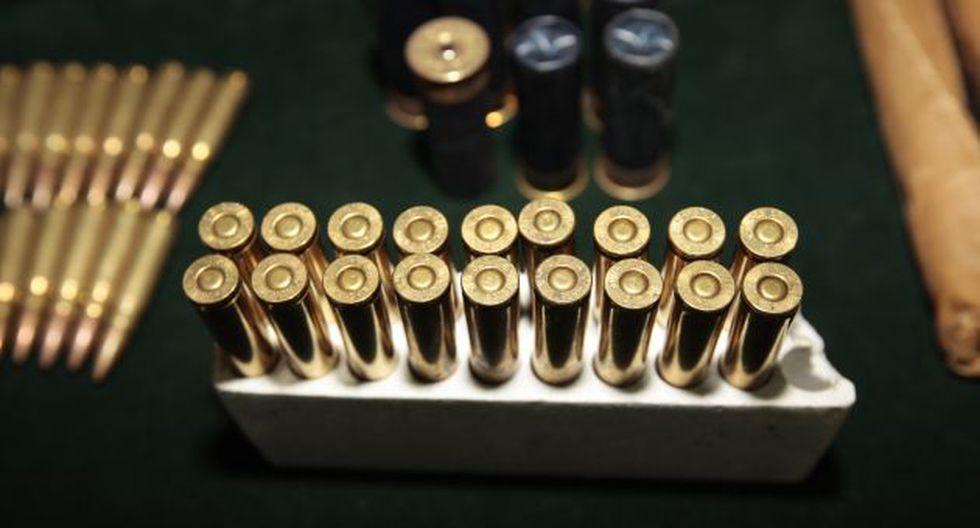 Policía decomisa encomienda con 500 balas en bus interprovincial (USI)