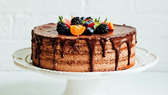 Torta helada de chocolate. (Foto: Difusión)