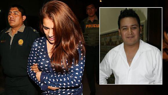 Karla Solf, pareja del excarcelado Ronny García, fue detenida tras agredir a policía. (USI)