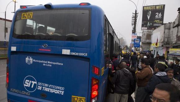 Protransporte admite deficientes, pero resalta aspectos positivos en los primeros días del corredor vial TGA. (Andina)