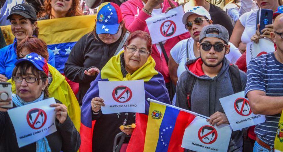 """Las autoridades venezolanas han sido enfáticas en que no permitirán el paso, mientras que Guaidó llama a los militares a que en un acto de """"humanidad"""" las dejen pasar. (Foto: EFE)"""