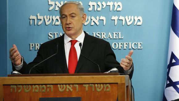 Oficina de Benjamin Netanyahu dijo que los familiares de las víctimas serán informados primero.  (Reuters)