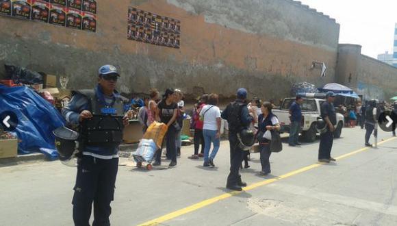 Municipalidad de Lima reubicó a ambulantes de Mesa Redonda. (USI)