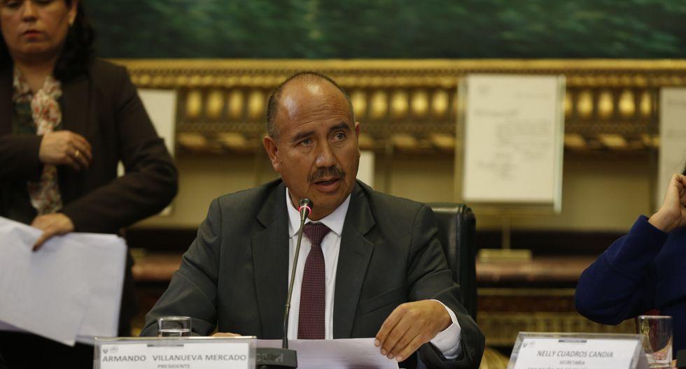 Armando Villanueva es el vocero de Acción Popular. (Foto: GEC)