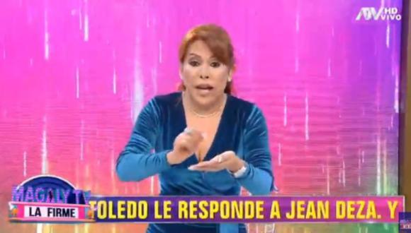 """Magaly Medina acusó a otros programas de copiar su contenido: """"Me copian todo"""". (Foto: Captura de video)"""