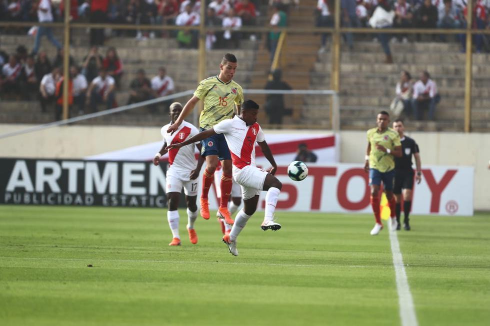 Perú vs. Colombia. (Giancarlo Ávila)