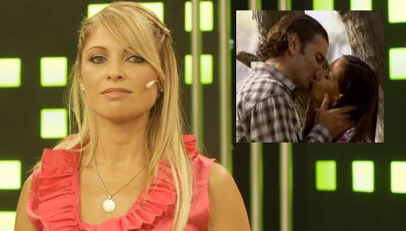 Le dan celos las escenas románticas de su esposo. (USI)