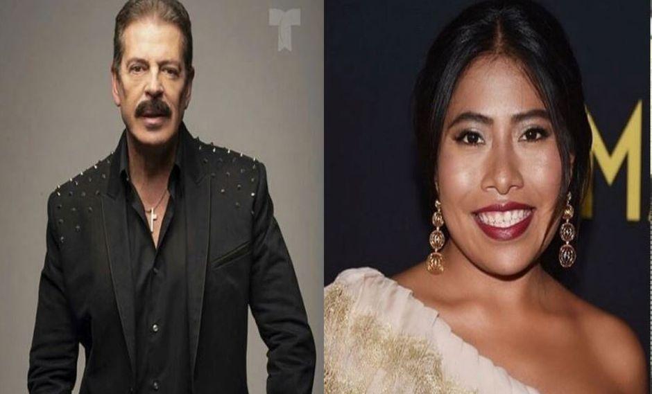 """La tildó de """"pinche india"""" y ahora actor Sergio Goyri le desea fuerte a Yalitza Aparicio en los Oscar. (Instagram)"""
