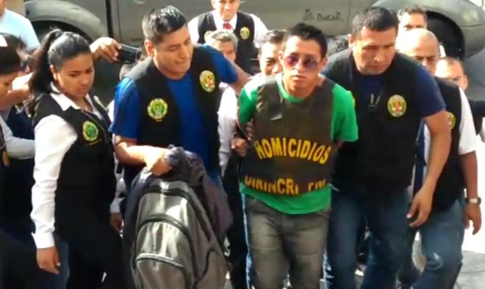 Trasladan a Lima a sujeto que asesinó a ex pareja y la dejó en maletera. (PNP)