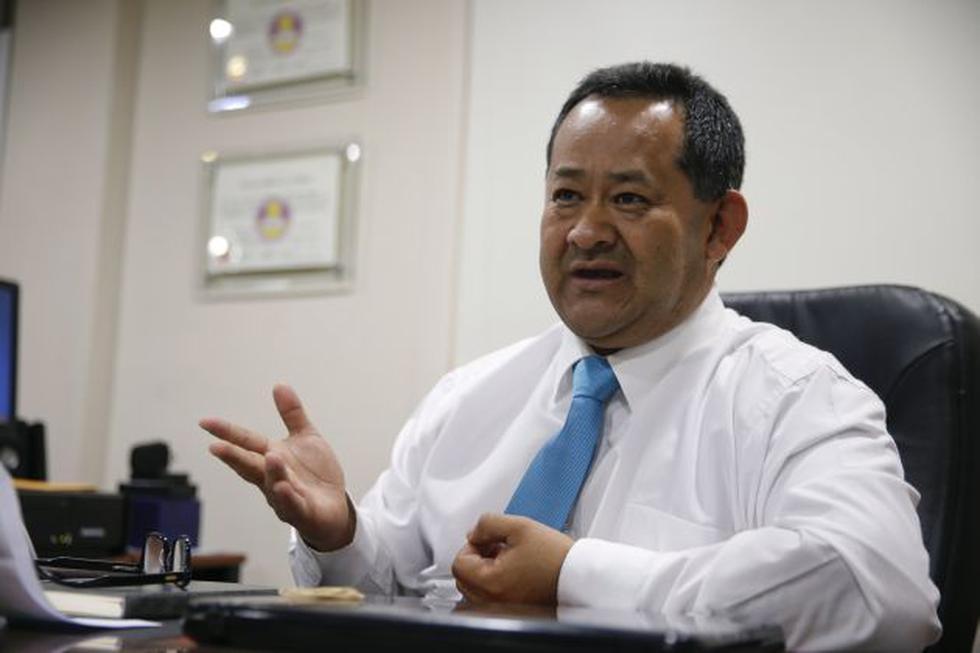 Congresista responde denuncia en su contra de su colega Moíses Mamani (Foto: Manuel Melgar)