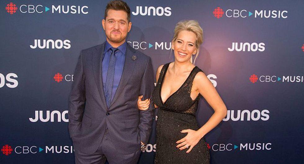 Luisana Lopilato y Michael Bublé confirmaron que tendrán a su tercer bebé. (Getty Images)