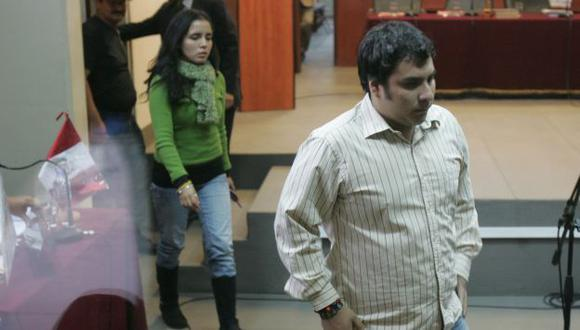 RESIGNADO. Cornejo Ruiz se mostró de acuerdo con su sentencia. (Martín Pauca)