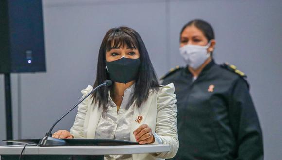 Mirtha Vásquez asumió como primera ministra la semana pasada. (Foto: Twitter Mirtha Vásquez)