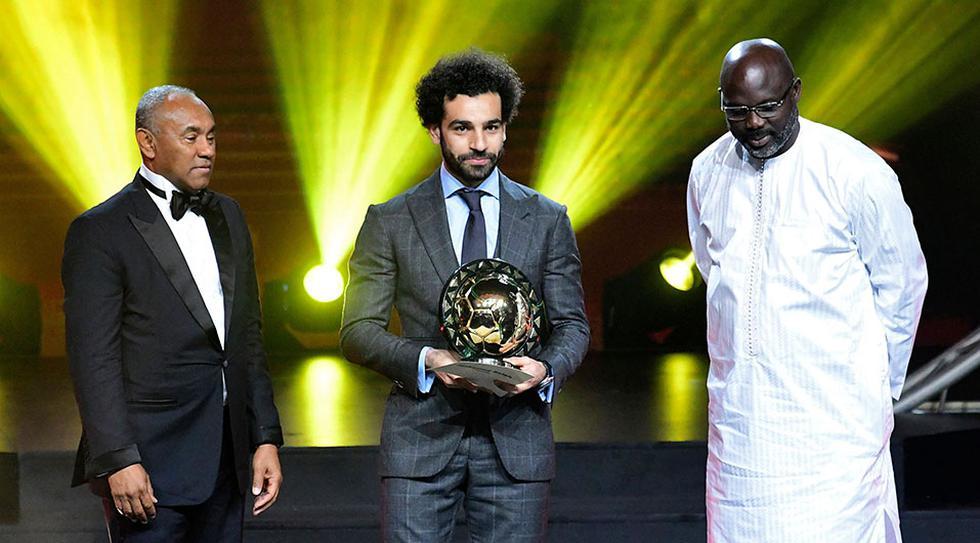 Mohamed Salah vuelve a ganar el premio al mejor jugador de África. También lo ganó en 2017. (Foto: AFP)