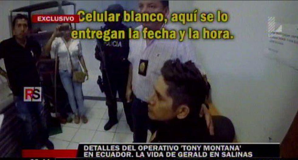 Gerald Oropeza estuvo con dos mujeres de nacionalidad cubana en Ecuador. (Reporte Semanal)