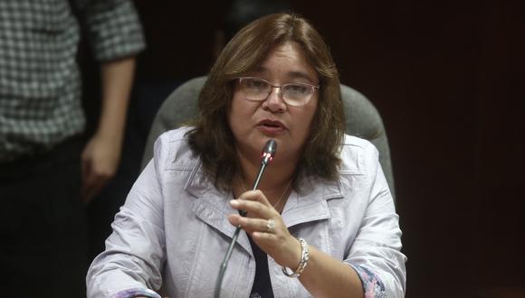Janet Sánchez resaltó que la denuncia contra López Vilela se ha visto de forma transparente. (Foto: GEC)
