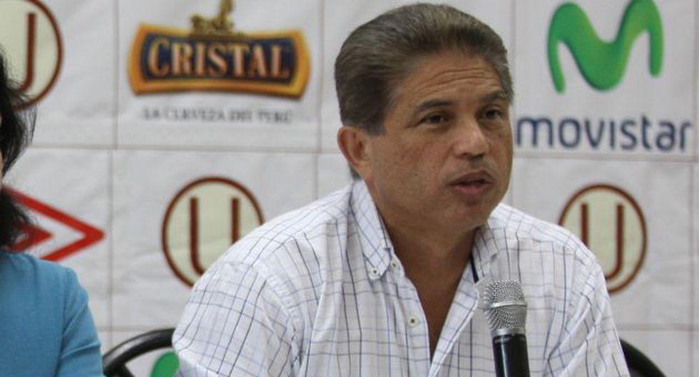 López Cano estuvo en Ate. (USI)