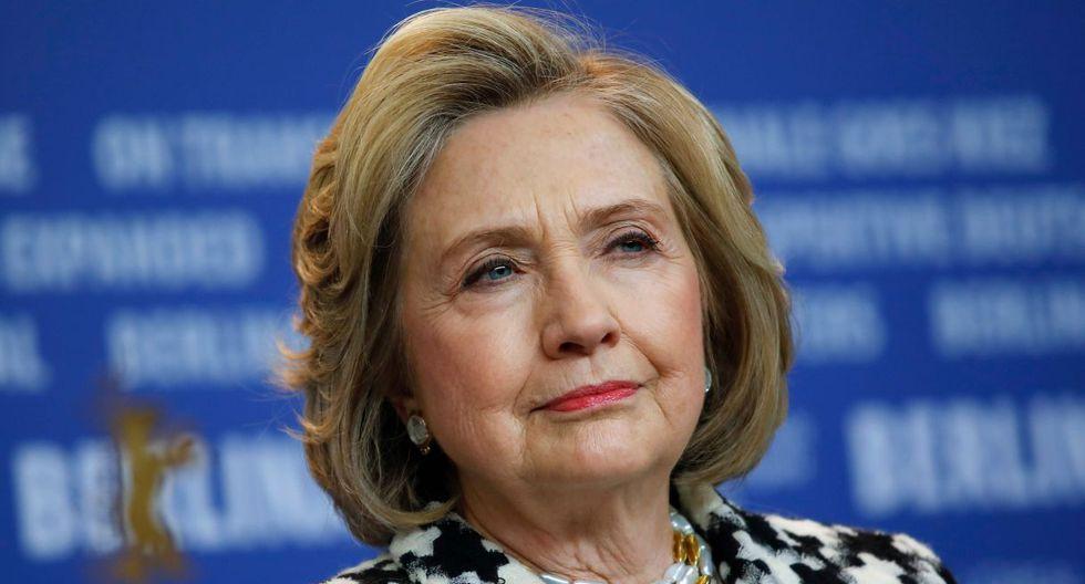 Hillary Clinton se encuentra en Berlín con motivo de la proyección en el festival de cine de una serie documental de cuatro capítulos dedicada a ella. (AFP).