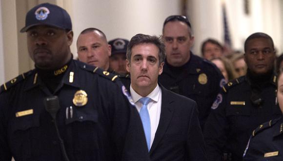 Michael Cohen, exabogado personal del presidente de los Estados Unidos, Donald Trump, cumplirá prisión domiciliaria. (Foto: AFP/Andrew CABALLERO)