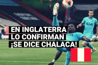 La 'chalaca' es peruana así lo confirma Tottenham de la Premier League