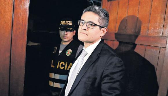 Fiscal José Domingo Pérez dijo que está en manos de los jueces la aplicación de la prisión preventiva. (Foto: GEC)