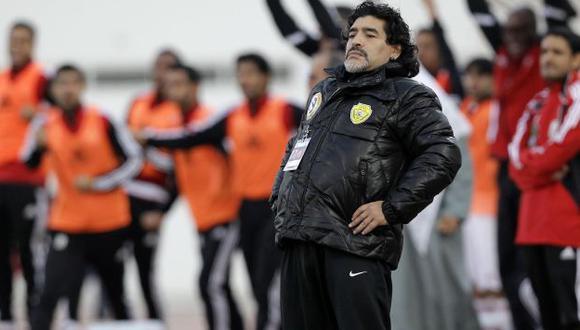 El argentino dijo que le gustaría volver a dirigir al Nápoles. (AP)