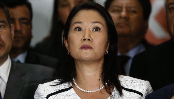 """Keiko Fujimori rechazó ser """"una mala perdedora"""" por su actitud tras su derrota frente a Pedro Pablo Kuczynski (PPK) en los comicios del 2016. (Foto: GEC)"""