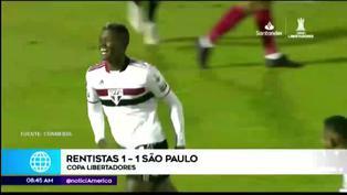 Copa Libertadores: empate de Rentistas y Sao Paulo dejó como primer eliminado a Sporting Cristal