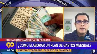Experto en finanzas nos explica cómo elaborar un presupuesto mensual