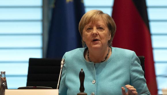 Angela Merkel ha expresado su preocupación por la evolución de la pandemia en su país. (Foto: Michael Sohn / POOL / AFP)