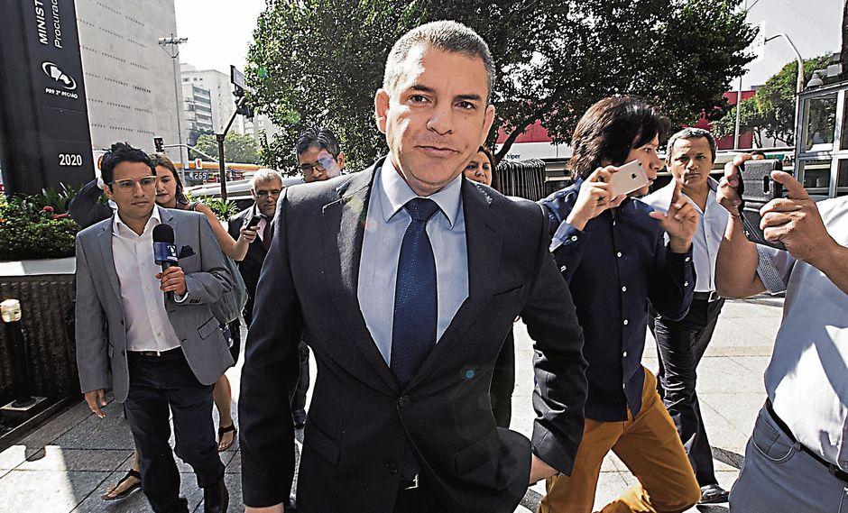 Medidas inmediatas. El fiscal Rafael Vela aseguró estar satisfecho con lo dicho por el ex directivo. (USI)