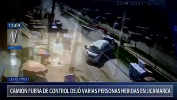 Al menos se reportaron siete personas heridas. (Captura: Canal N)
