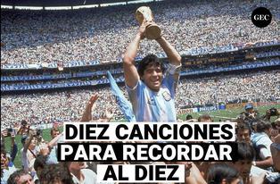 Diez canciones a Maradona