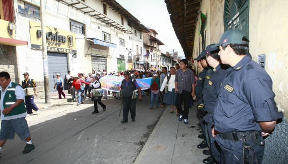 La solución del problema en Cajamarca no son las manifestaciones, sino el diálogo, según SNMPE. (USI)