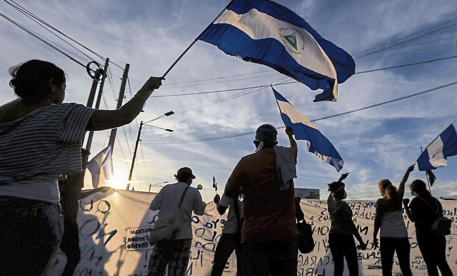 CIDH recomienda al régimen de Ortega detener la represión contra manifestantes. (USI)